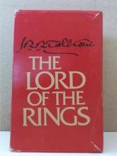THE LORD OF THE RINGS - JRR Tolkien - SLIPCASE - S