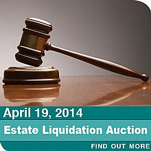 April 19, 2014 General Merchandise Estate Liquidation Auction