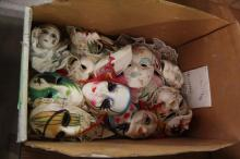 Decortive collection of Ceramic Masks