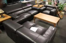 3 Pc. Leather Couch,Loveseat, and Chair