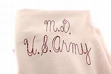 Antique 1937 US Army Wool Blanket