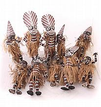 Set of African Sculptures
