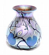 Carl Radke Hand Blown Glass Vase