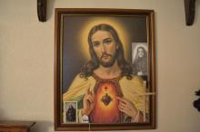 2 Pieces of Framed Religious Art