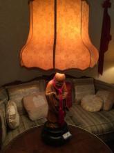Wood Chinese Lamp