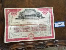Nostalgia - Foreign Stock Certificate (2)