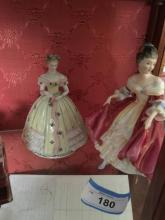 Antique Figurines -Southern Belle by Doulton