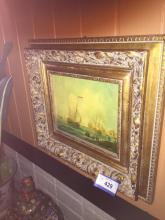 Signed Oil Painting -J V Capua