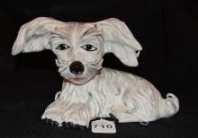 Italian Ceramic Figurine of Dog #75/501