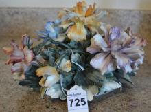 Naopli Capidomonte Porcelain Flowers