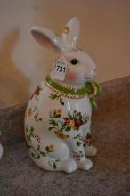 Old Country Rose Porcelain Bunny