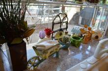 Shelf Lot Ceramic & Collectibles