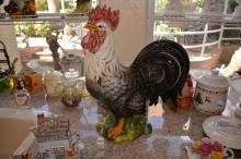 Large Hand Painted Italian Rooster
