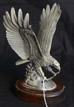 Hudson Fine Peuter American Eagle Figurine