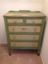 Vintage Wood Dresser