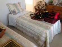 Twin Size Bed Frame Mattress and Box Spring