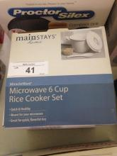 Mainstays Home Microwave Rice Cooker