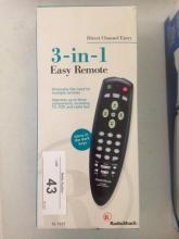 3-in-1 Easy Remote