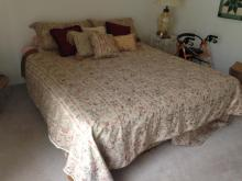 King Size Bed With Mattress and Box Spring