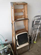 4' Ladder and Step Stool