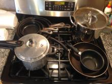 Lot of Pots and Pans