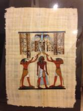 Egyptian Signed Oil Painting