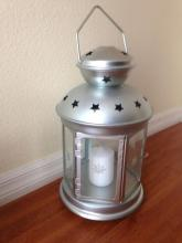 Decorative Lantern With Candle