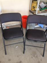 2 Folding Reception Chairs