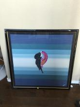 Framed Abstract, Signature Undesphierable