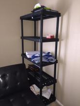 Plastic Shelf - 5 Tier