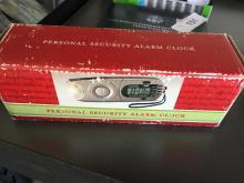 Personal Security Alarm Clock