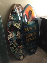 2 Piece Skim Board Art