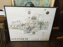 Steinberg Poster Galerie Maeght