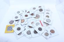 Bag of Misc US/Foreign Coins & Tokens