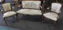 Bench Seat w/ 2 Chairs