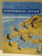 HAMMOND'S HISTORICAL ATLAS-VINTAGE 1960 48pp - MAPS