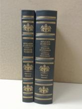 EASTON PRESS - BENJAMIN HARRISON by Harry J. Sievers - TWO VOLUMES