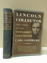 LINCOLN COLLECTOR, Carl Sandburg, Signed, First Edition, Limited 2380/2425.  Slipcase is separated (see photo) but book is in very good condition.