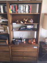 Vintage Display Shelf