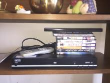 DVD Player and DVDs