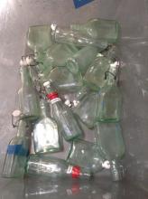 Lot of Decorative  Glass Bottles