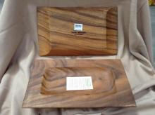 Box of Pacific Merchants Wood Trays