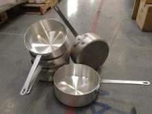 (5) Vollrath 5qt Sauce Pans Model#4022