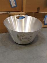 Perrier Jouet Champagne Ice Bucket Chrome Finish