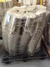 Pallet of Chrome Ice Buckets