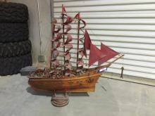 3' Tall Model Ship