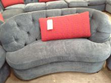 Blue Moon Shaped Love Seat