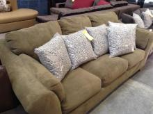 Olive Green Sectional