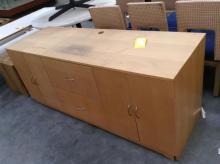 4 Door, 2 Drawer Dresser w/ Unfinished Top