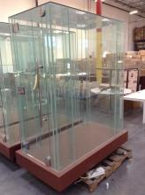 Large Glass Display Case 3'x5'x6